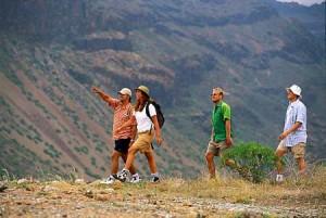 Fottur på Gran Canaria