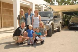 Familien Muraas/Pedersen på Sunwing Resort and Spa Side