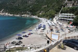 Ermones - Grand Mediterraneo Resort & Spa strand