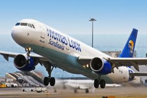 Grønne landinger med Thomas Cook Airlines