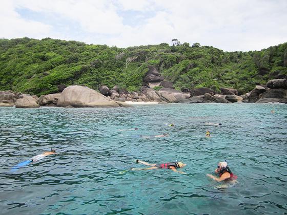 Snorkling på en av de topp 10 beste dykkerstedene i verden.