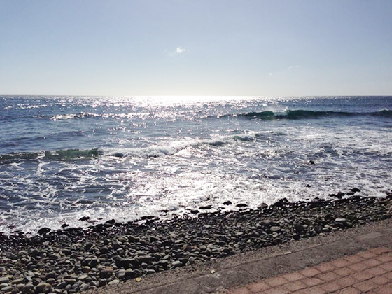 Været og temperaturene er bra på Gran Canaria.