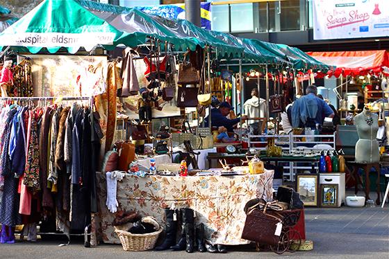 Old Spitafields Market i London er verdt et besøk.