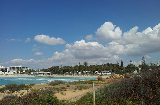 Den populære Nissi Beach.