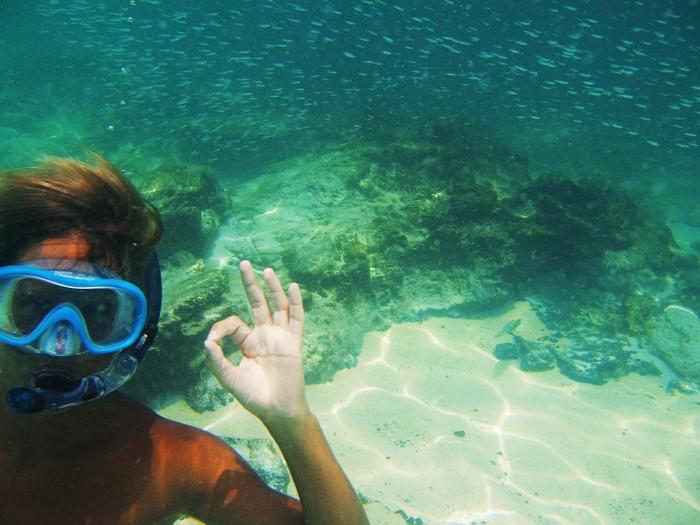 snorkling, thailand