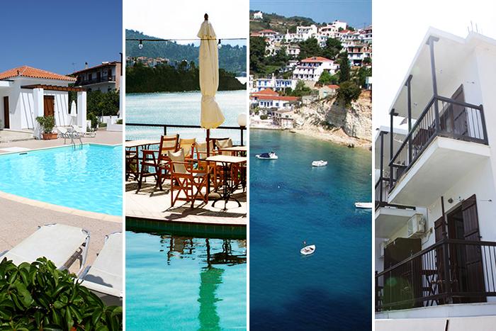 Skopelos Village, Villa Alexis, Hippocampus og Dimitrios Studios