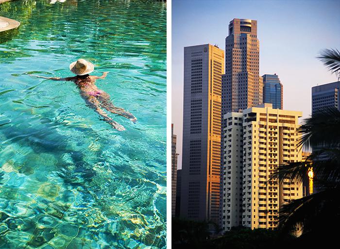 Phuket og Singapore