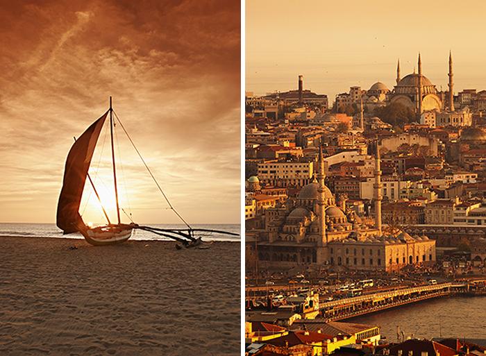 Sri Lanka og Istanbul