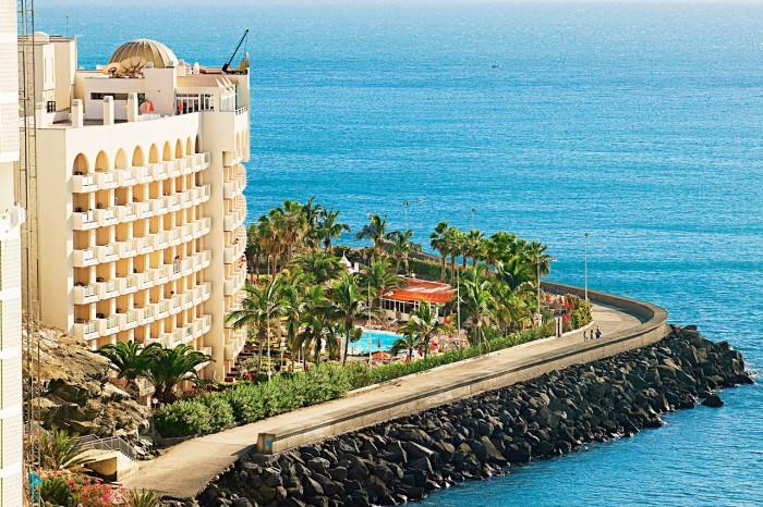 Uslåelig utsikt på hotellet Servatur Green Beach