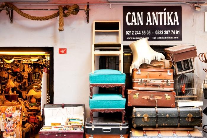 Med ti kilo ekstra bagasje får du plass til litt mer fra markedet!