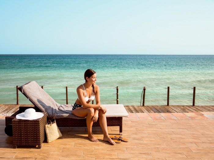 Nyt dager i sus og dus på Sunprime Miramare Beach på Rhodos