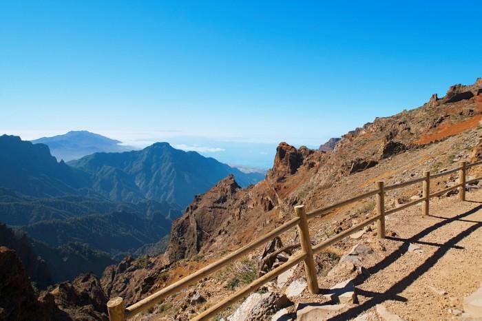Rouque de los Muchachos högsta punkten, La Palma. AJO.