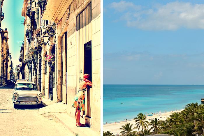 Ikke nøy deg med bare Havana eller Varadero - få både i pose og sekk! Foto: Lén Kongerud (t.v.)