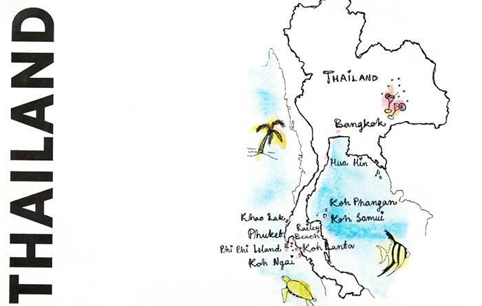 Hvilken Thailand-ferie vil du ha?