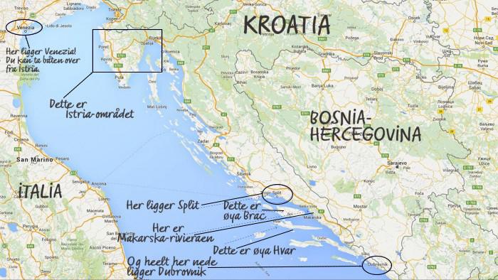 Den store Kroatia-guiden