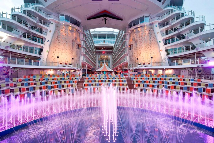 Harmony of the Seas Royal Carribean Cruiseline