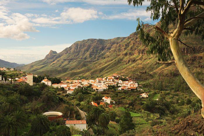 Fataga dalen,Fataga Gran Canaria.