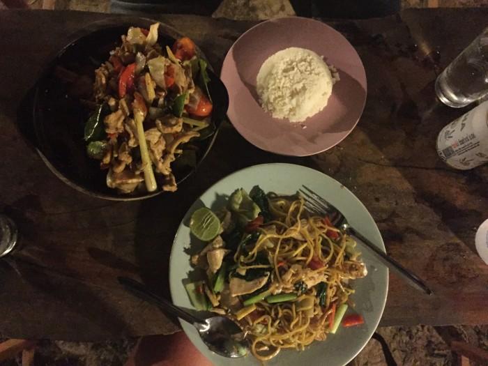 ENKELT OG SMAKFULLT: En smaksopplevelse utenom det vanlige på restauranten HillTop på Koh Mook.
