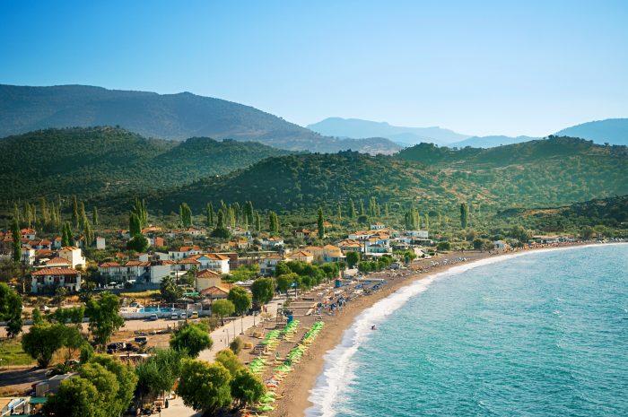Greece, Lesbos, Anaxos, hk, 07