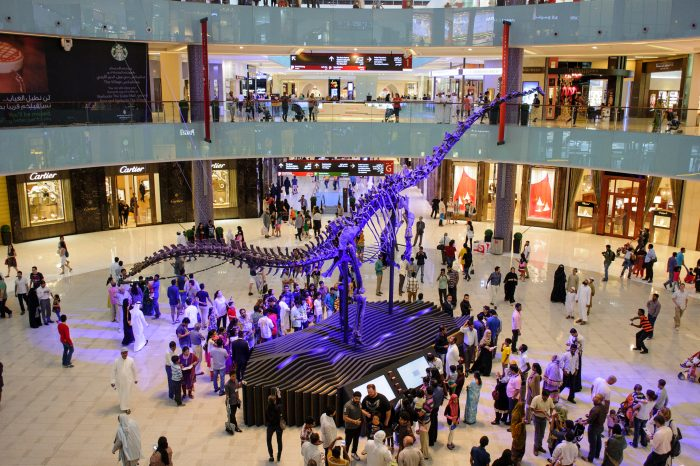 Dubai Mall. Downtown Dubai