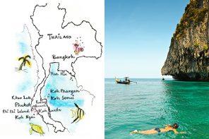Velg riktig reisemål i Thailand