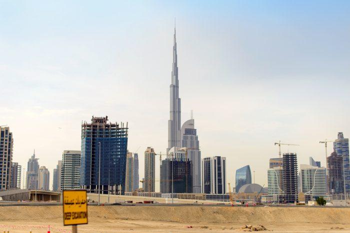 Burj Khalifa. Downtown Dubai.