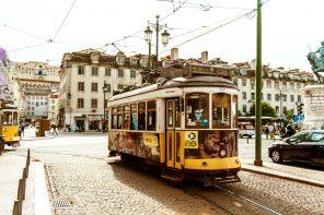 Med sporvogn i Lisboa: Elétrico 28