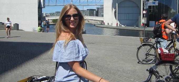 KJÆRESTETUR TIL GRESK ØYFAVORITT: I sommer går turen til Skiathos for Vings reiserådgiver Benedikte Døhlen. Foto: Privat