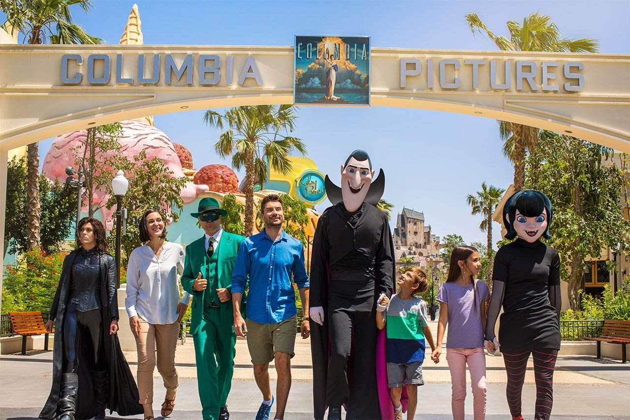 Columbia Pictures-sonen i parken MOTIONGATE™ Dubai.