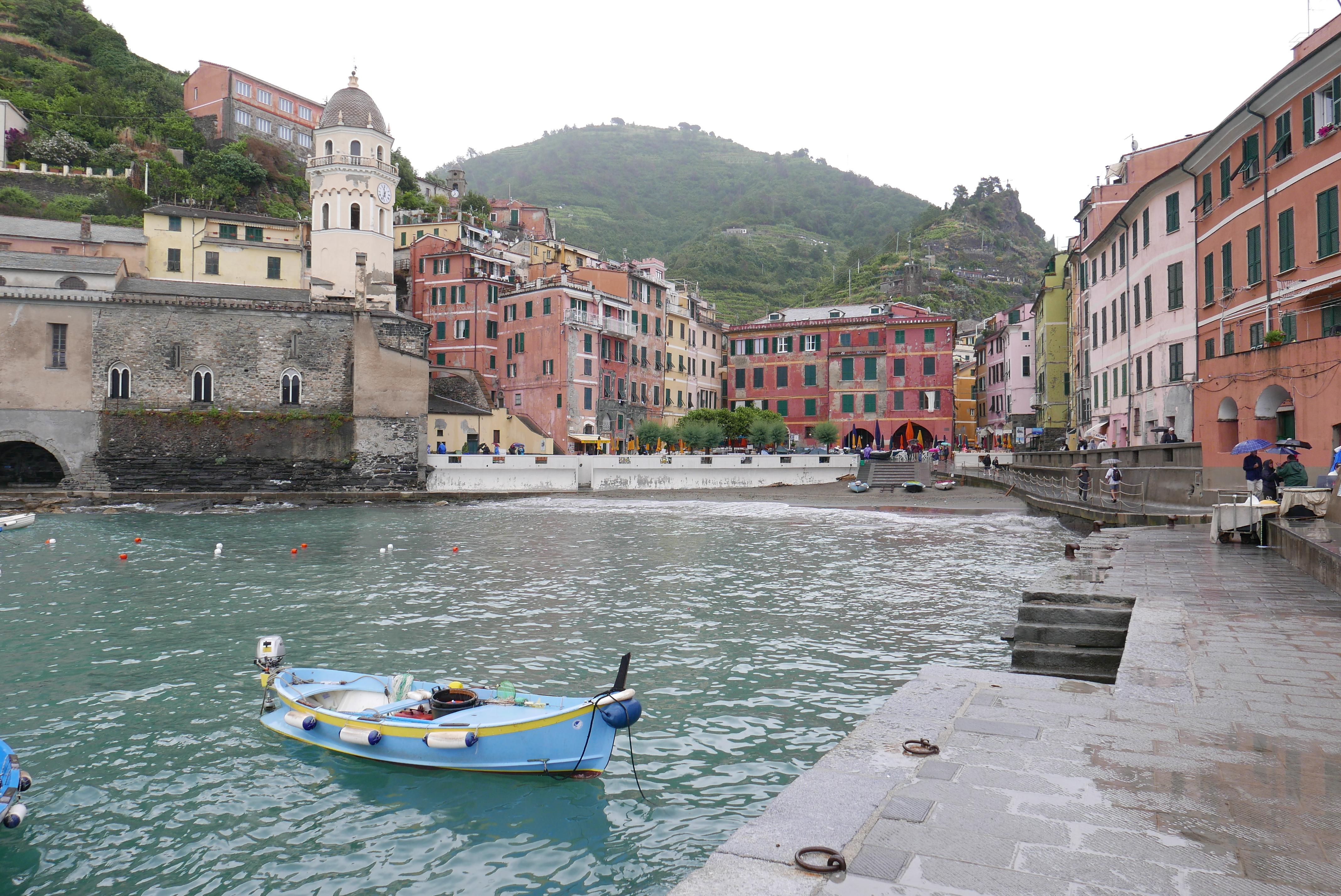 Vernazza er byen nest lengst nord av de fem Cinque Terre-byene. Foto: Len Kongerud