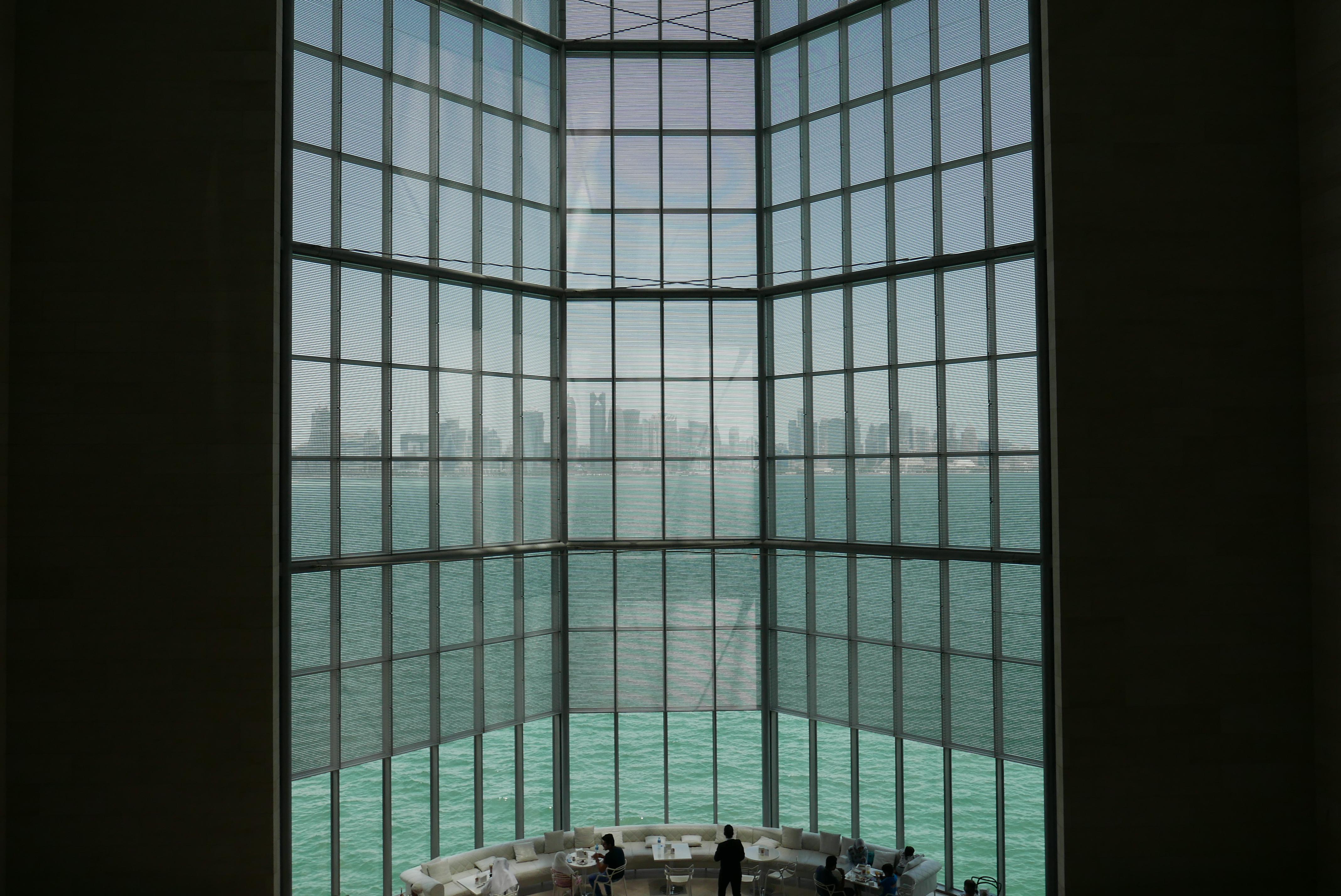 Bildetekst: Museum of Islamic Art huser en bemerkelsesverdig kunstsamling – og byr på spektakulær utsikt mot bydelen West Bay.