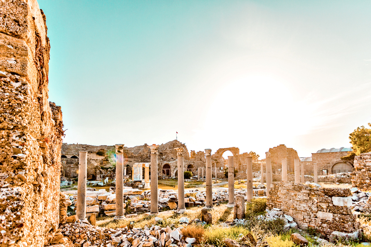 Bildetekst: Side antik, har røtter helt tilbake til det osmanske riket og Romerriket.