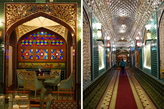 Bildetekst: Restauranten Parisa sørger for en interiøropplevelse av de sjeldne.