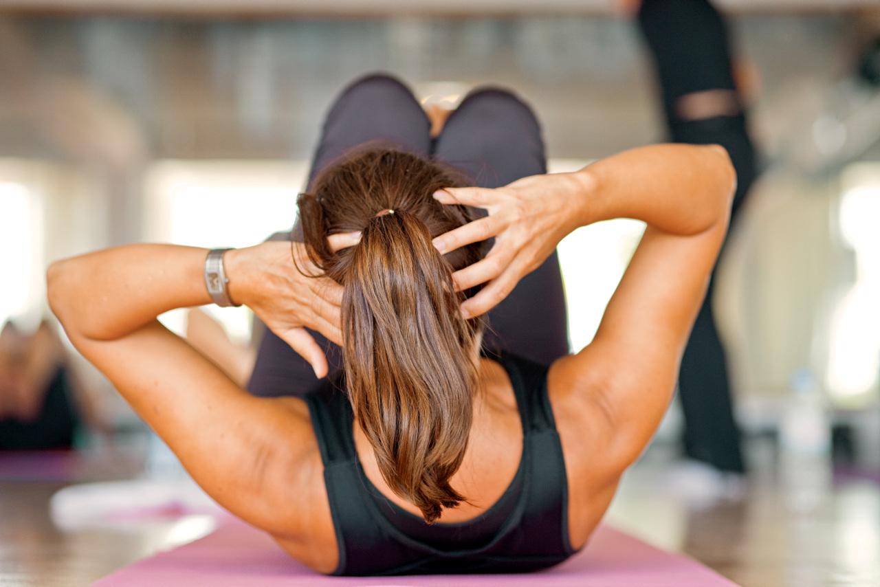 Bildetekst: Med eget treningsutstyr på rommet kan du enkelt trene på egen hånd.