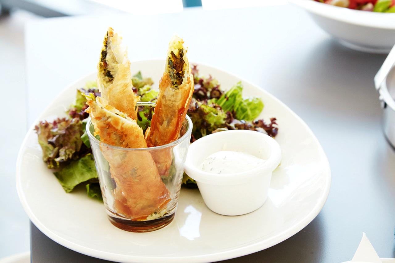 Bildetekst: Fristende vegetarretter legges til menyene på hotellrestaurantene.