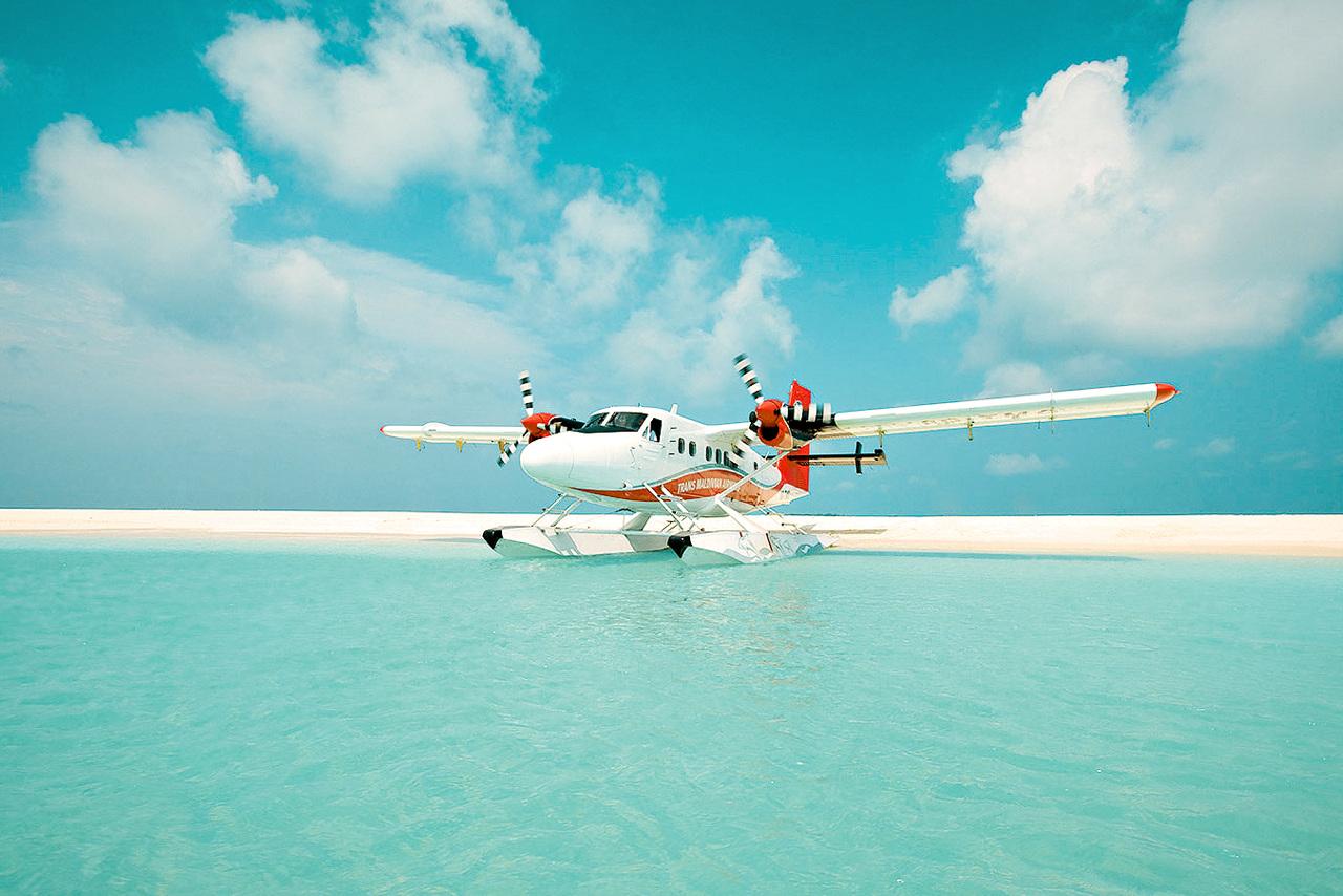 Bildetekst: Mange av øyene kan kun nås med sjøfly, noe som er en opplevelse i seg selv.
