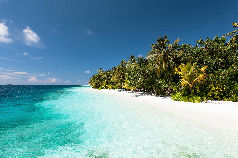 Bildetekst: Maldivene er enda vakrere i virkeligheten.