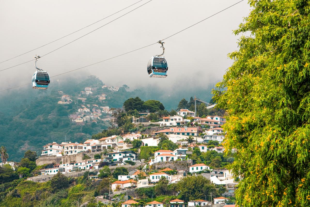Bildetekst: Madeira ligger rett nord for Kanariøyene og har behagelig temperatur året rundt.