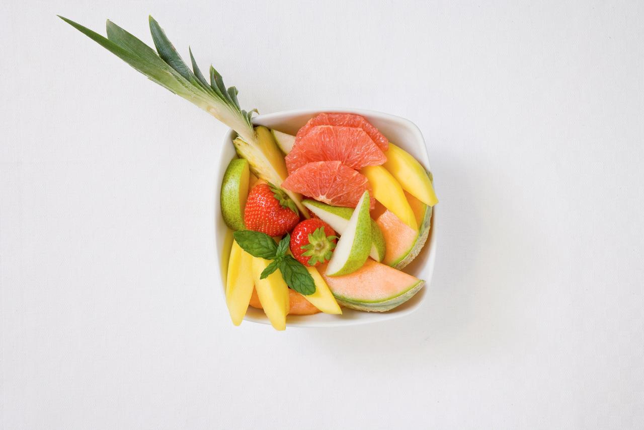 Bildetekst: Det blir lettere for både barn og voksne å spise sunt på Sunwing i sommer.