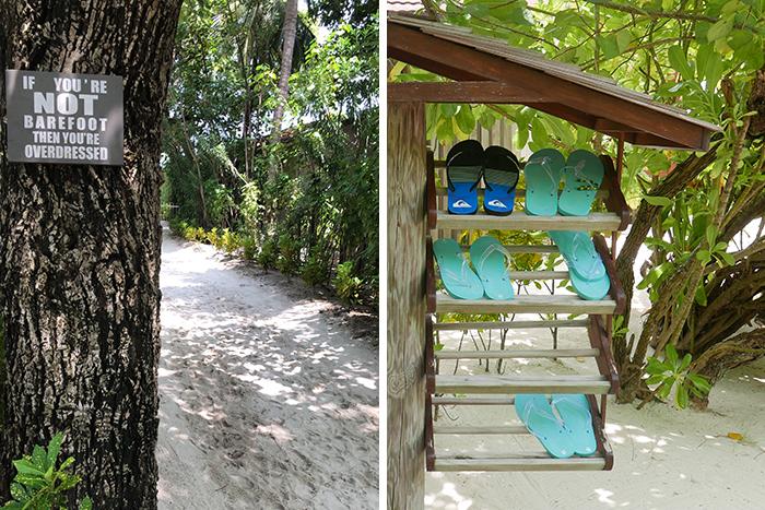 """Bildetekst: På Maldivene gir begrepet """"barfotluksus"""" mening."""