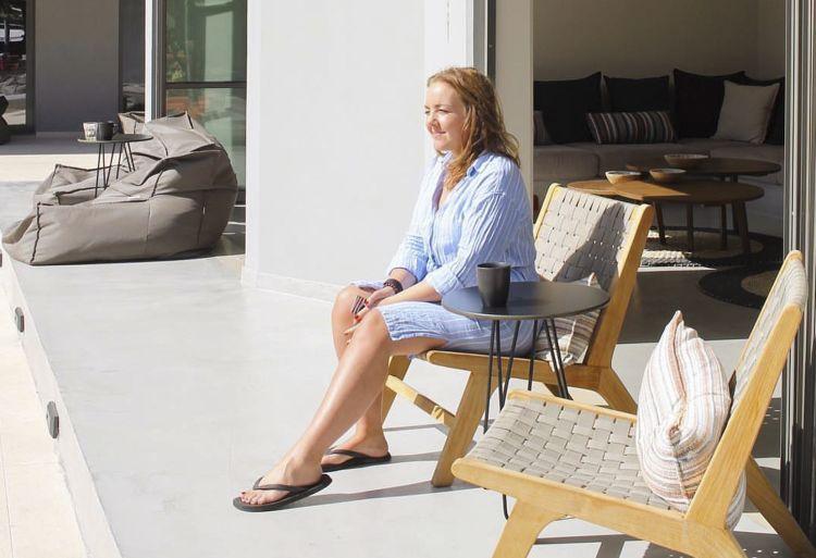 Bildetekst: Hedda B. Zandwijken fant luksusfølelsen på Cook's Club.