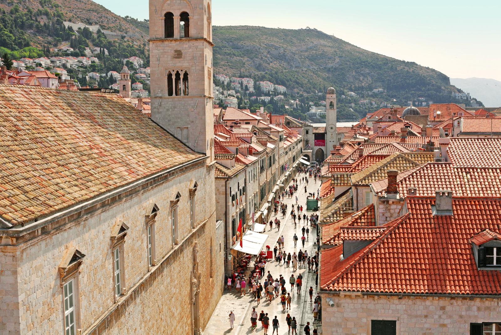 Ser det kjent ut? En rekke scener i Game of Thrones er spilt inn i Dubrovnik.