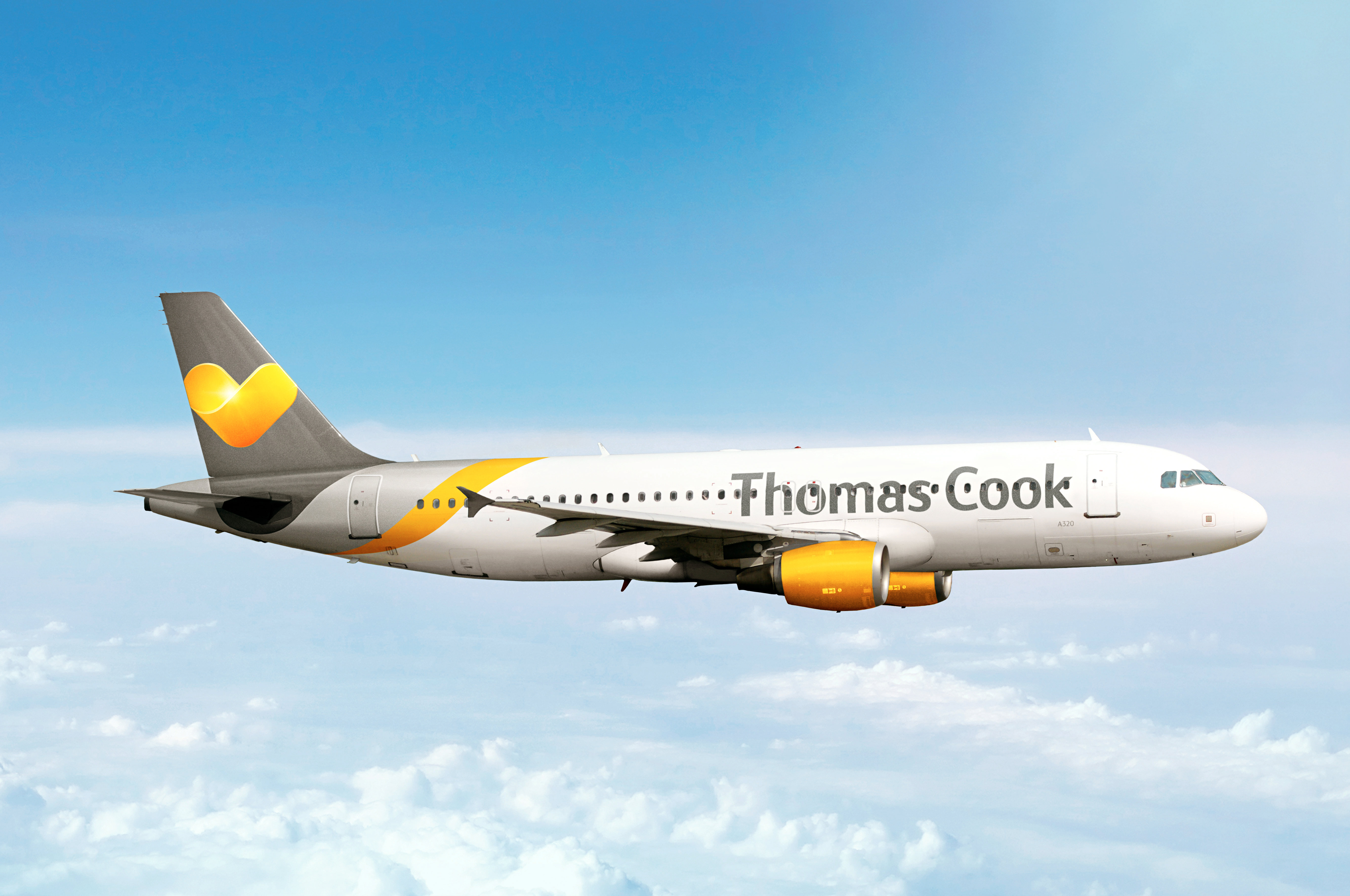 Thomas Cook fly i luften